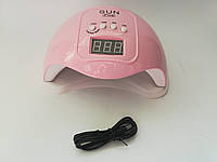 Лампа для сушки гель лака геля и акрила Sun FIVE Beauty nail 48w USB