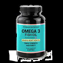ОМЕГА-3  60  капсул  ( OMEGA-3)