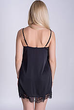 Пеньюар Ночная рубашка Черная, фото 3
