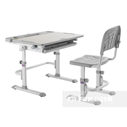 Комплект парта + стул трансформеры Cubby DISA GREY - ОПТОМ ДЛЯ ШКОЛ, фото 2