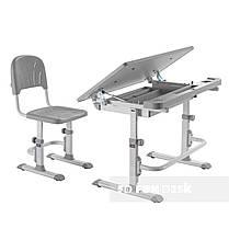 Комплект парта + стул трансформеры Cubby DISA GREY - ОПТОМ ДЛЯ ШКОЛ, фото 3