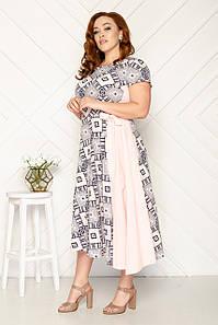 Модное летнее платье 50-56 р