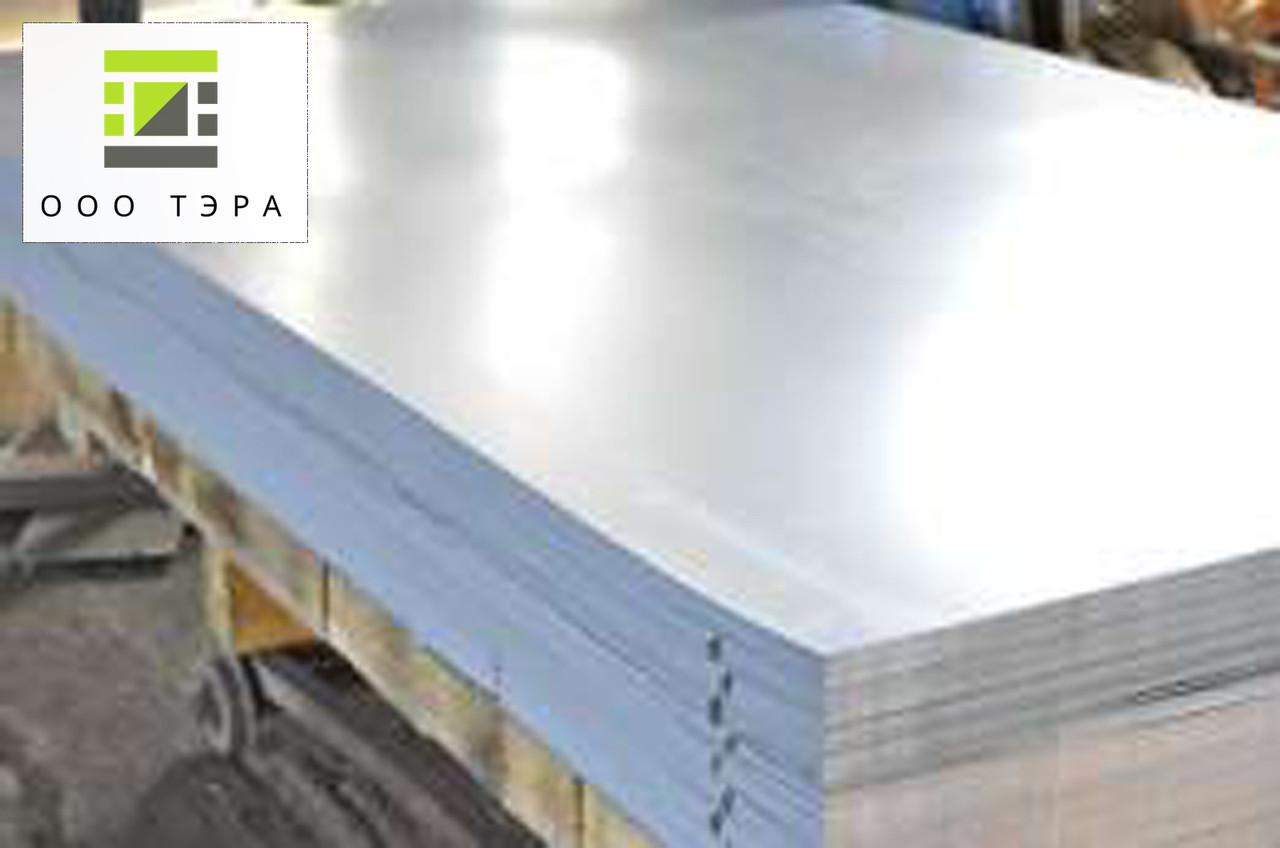 Лист алюминиевый 0.6 мм 1050 Н24 (АД0) полунагартованный 1000х2000 мм