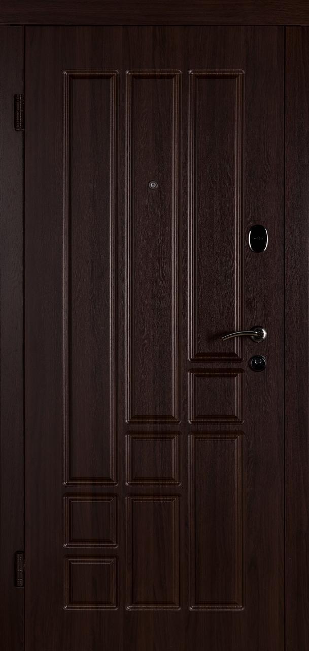 Входная дверь Титан темный орех