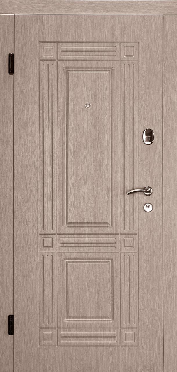 Входная дверь Атлант венге светлый