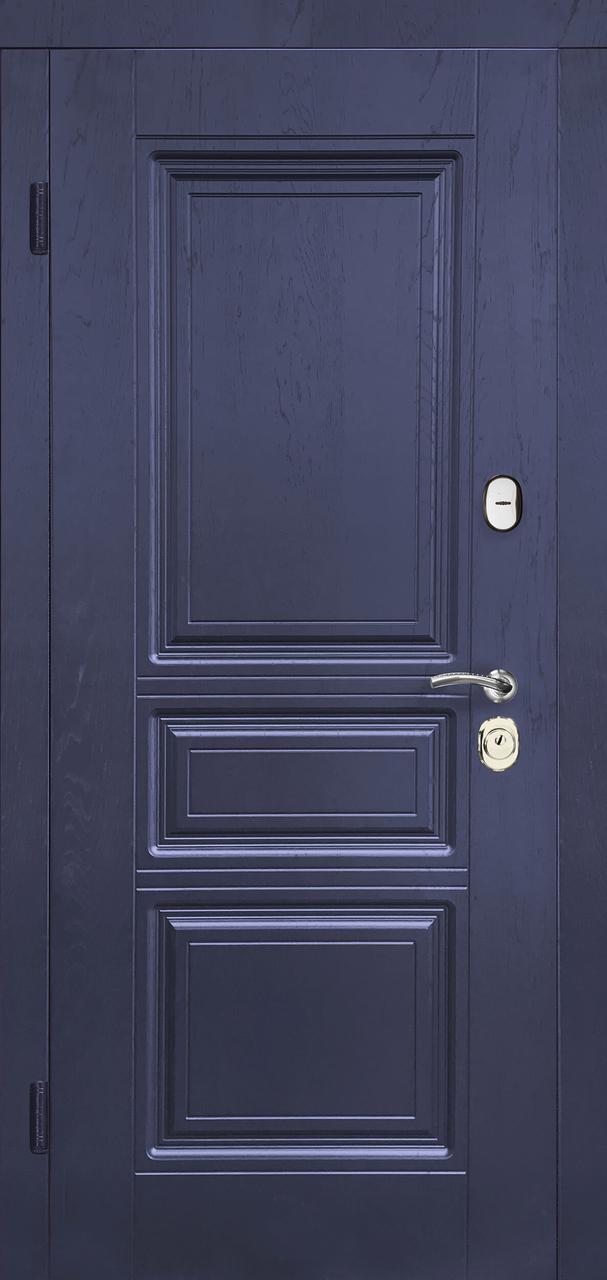 Входная дверь Вена-В синий дуб