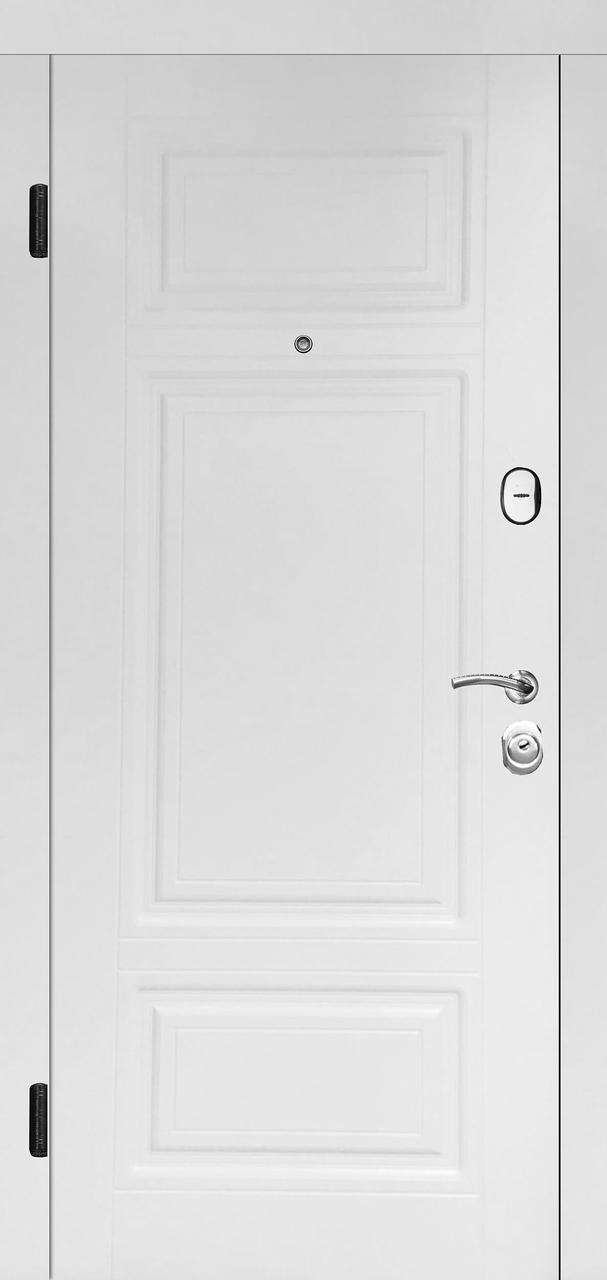Входная дверь Барселона белый супермат
