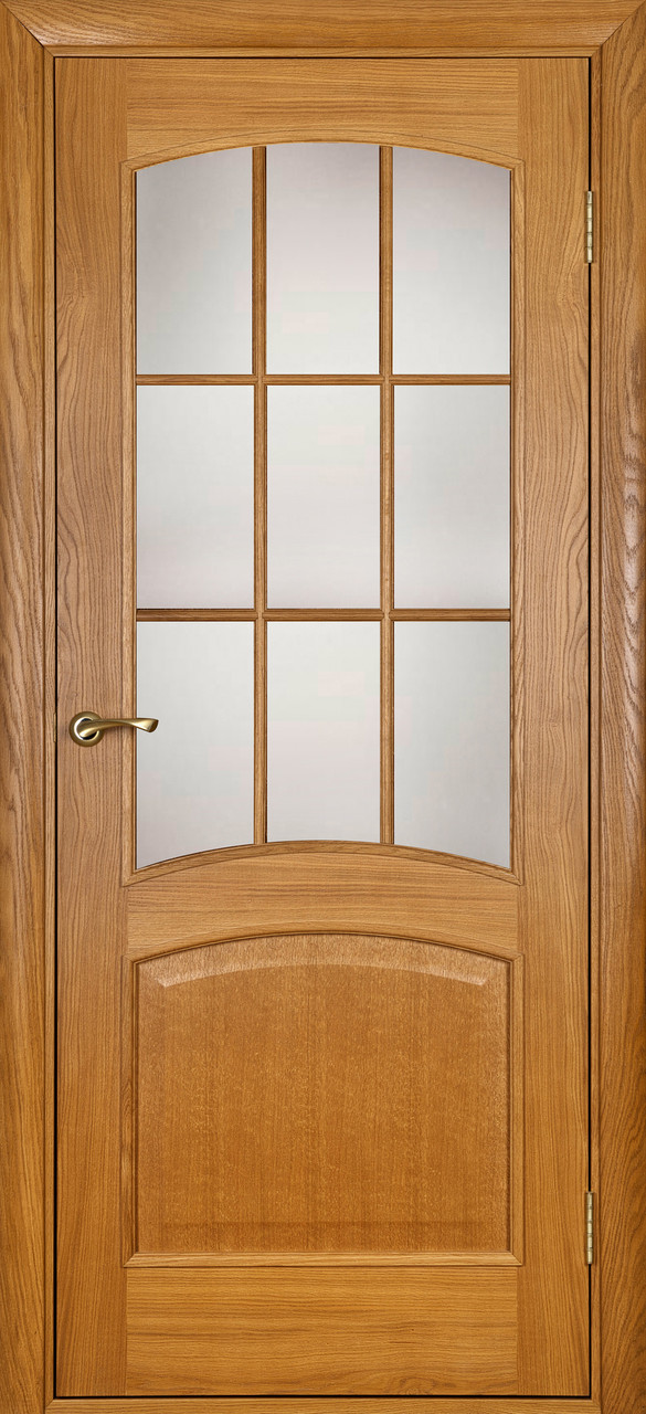 Межкомнатная дверь Капри светлый дуб ПО