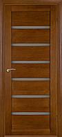 Межкомнатные двери Бристоль-У орех темный ПГ