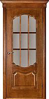 Міжкімнатні двері Престиж каштан ПО (з решіткою)