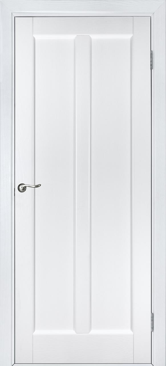 Межкомнатная дверь Дива белый ясень ПГ