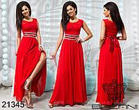 Вечернее платье в пол - 21345