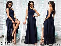 Стильное платье в пол - 21359