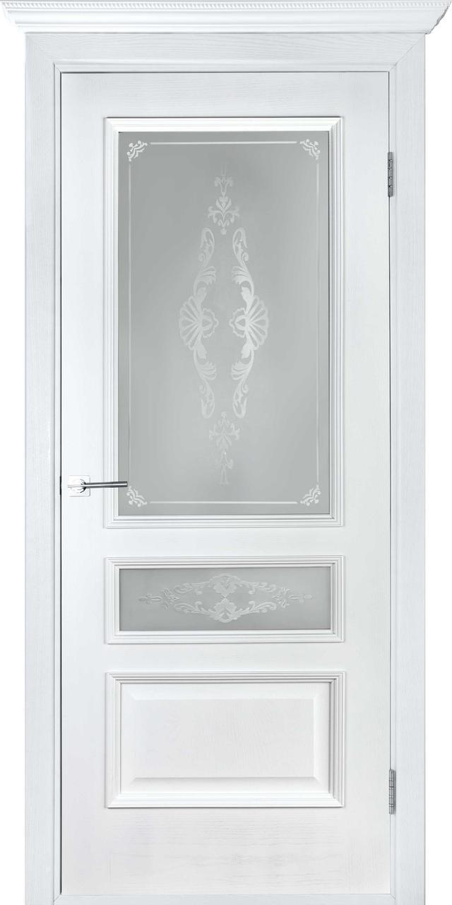 Межкомнатная дверь Вена белый ясень ПО