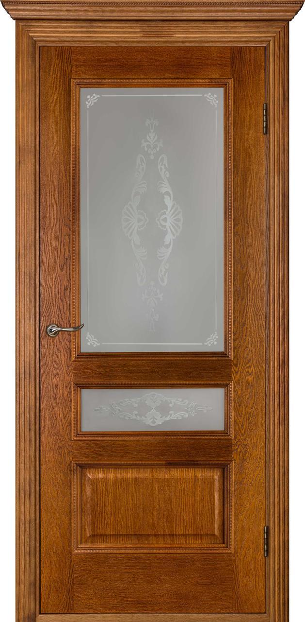 Межкомнатная дверь Вена орех ПО