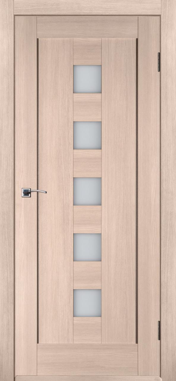Межкомнатная дверь Квадрат У капучино ПО