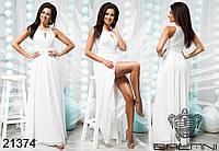 Элегантное вечернее платье в пол - 21374