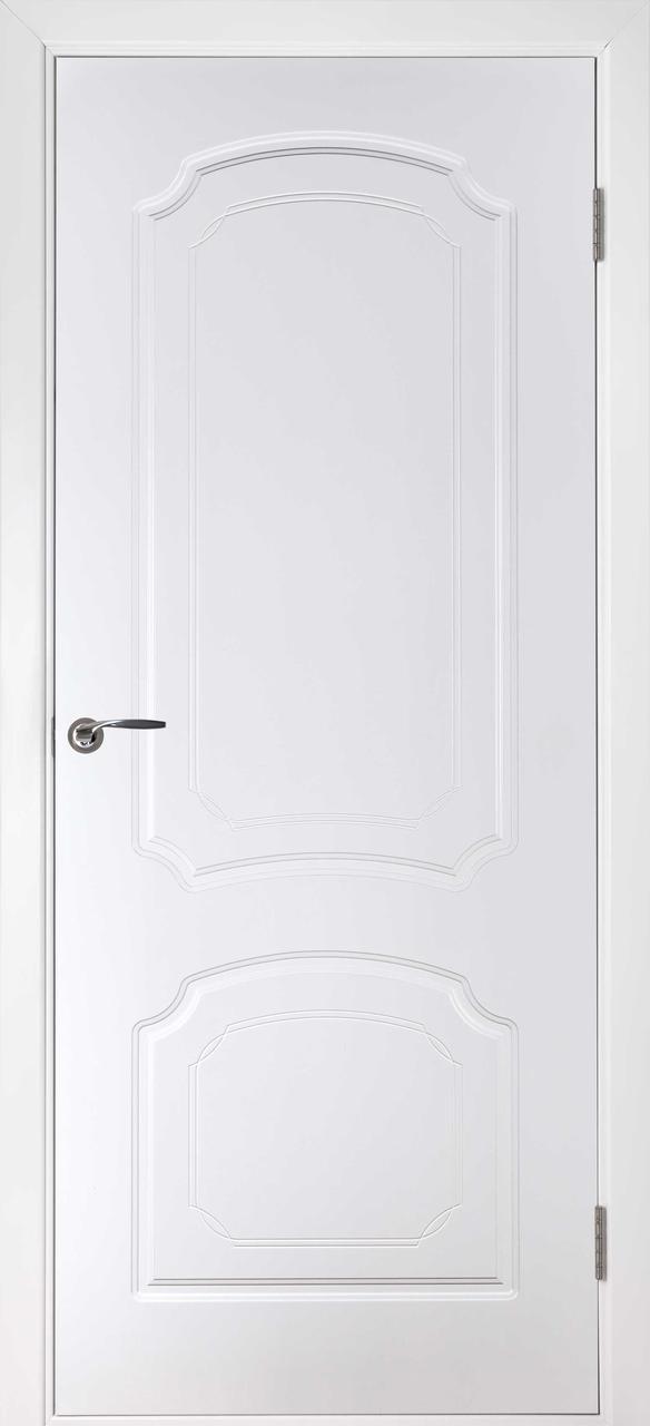 Межкомнатная дверь Виктория белая эмаль ПГ