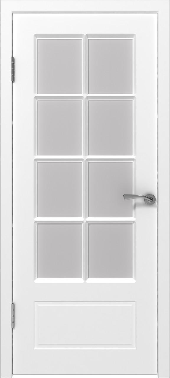 Межкомнатная дверь Европа белая эмаль ПО