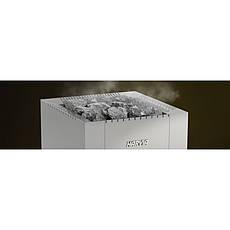 Дровяная печь Harvia 22 Duo Steel для бани и сауны с выносом с панорамным стеклом, фото 2