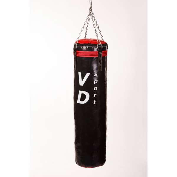 Мешок боксерский ПВХ с цепями 120 см черный