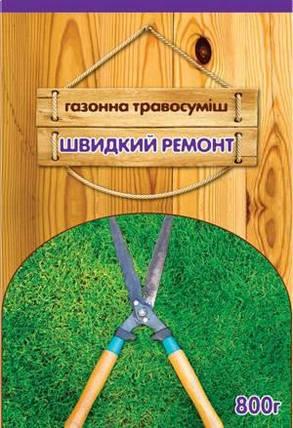 Семена Газонная трава Быстрый ремонт 0,4кг, фото 2