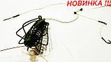 "Рыболовная кормушка в сборе ""Арбуз - СПУТНИК"" (НЕРЖАВЕЙКА) , вес 40 грамм, фото 2"