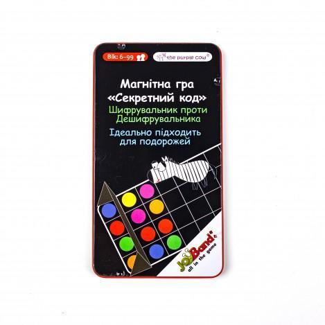 """Магнитная мини-игра в дорогу """"Секретный код"""" JoyBand"""
