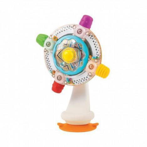 """Детская развивающая игрушка """"Вертушка солнышко"""" Infantino, 18 х 10,3 х 23 см"""