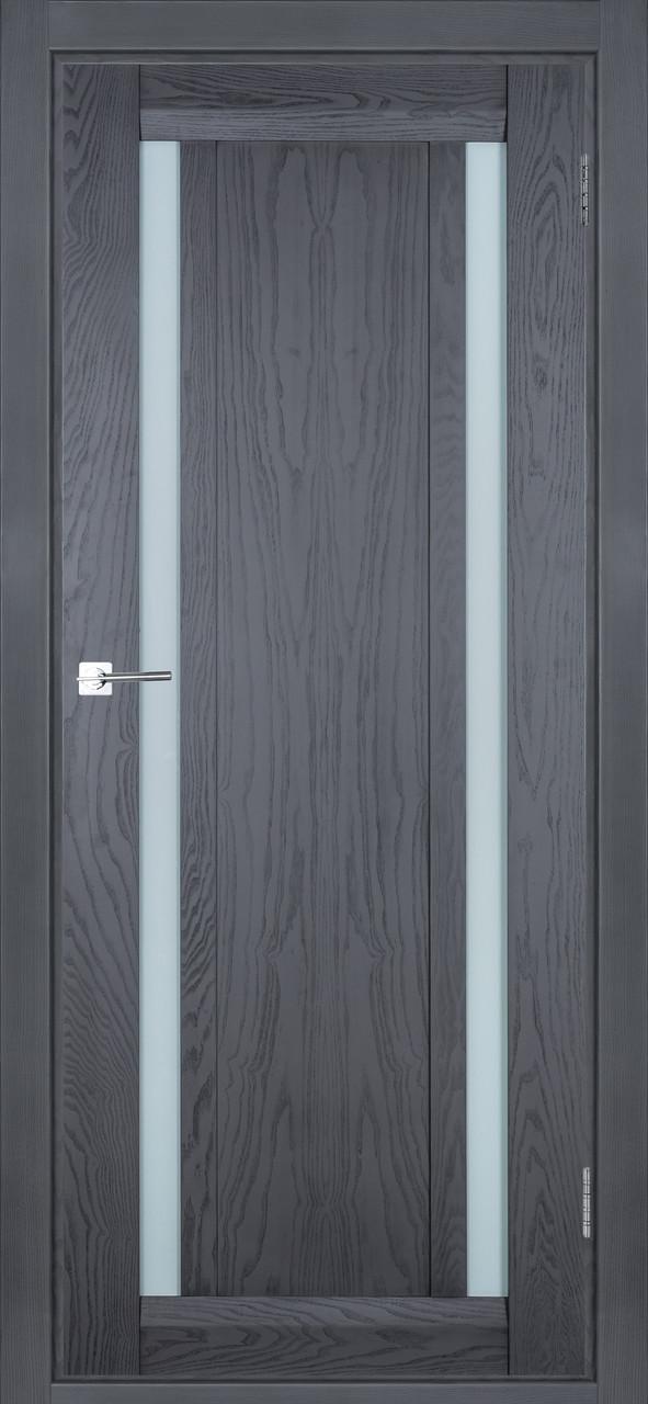 Межкомнатная дверь Дублин серый ясень  ПО