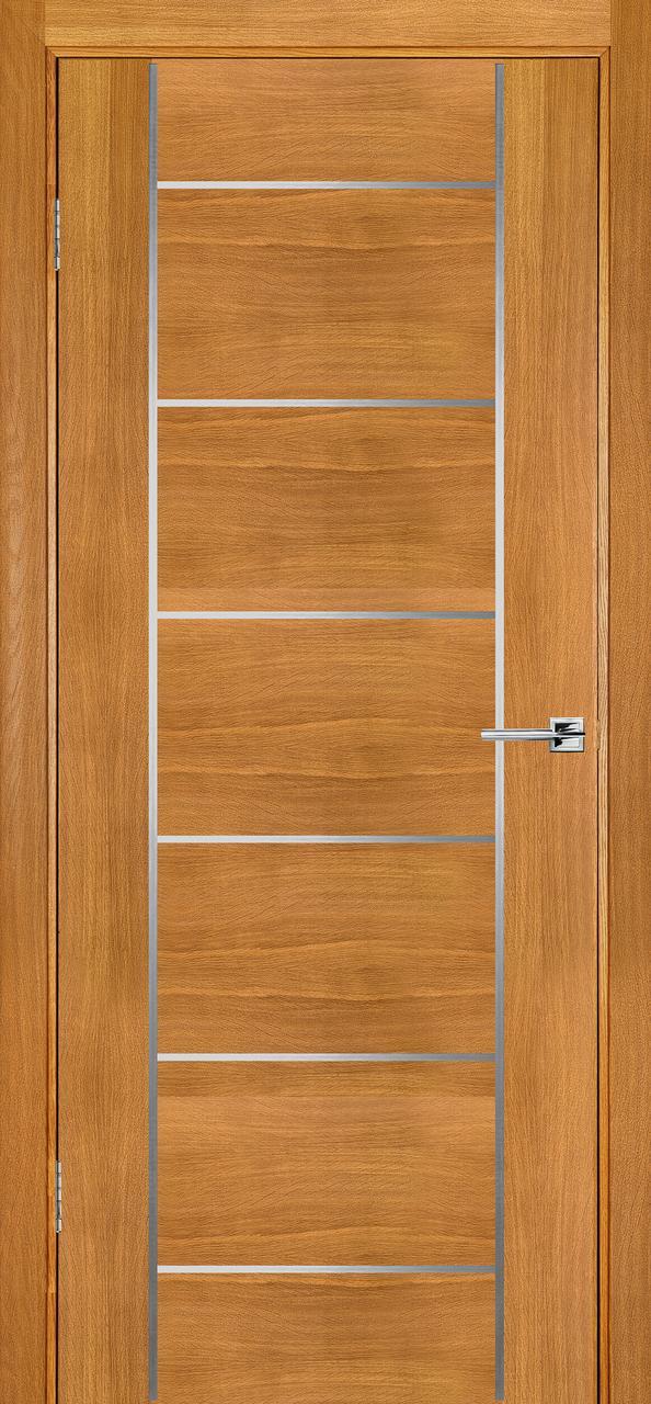 Межкомнатная дверь Флэш 8 светлый дуб ПГ