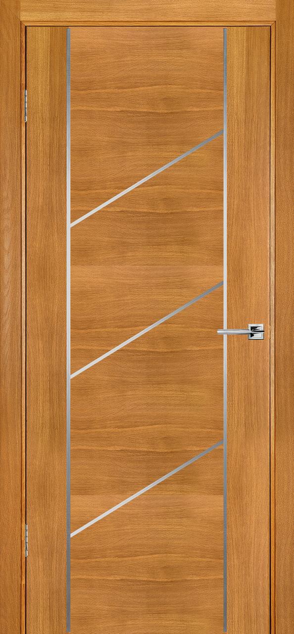 Межкомнатная дверь Флэш 12 светлый дуб ПГ