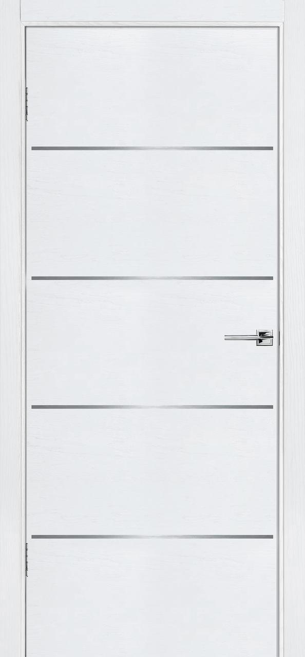 Межкомнатная дверь Флэш 2 белый ясень ПГ