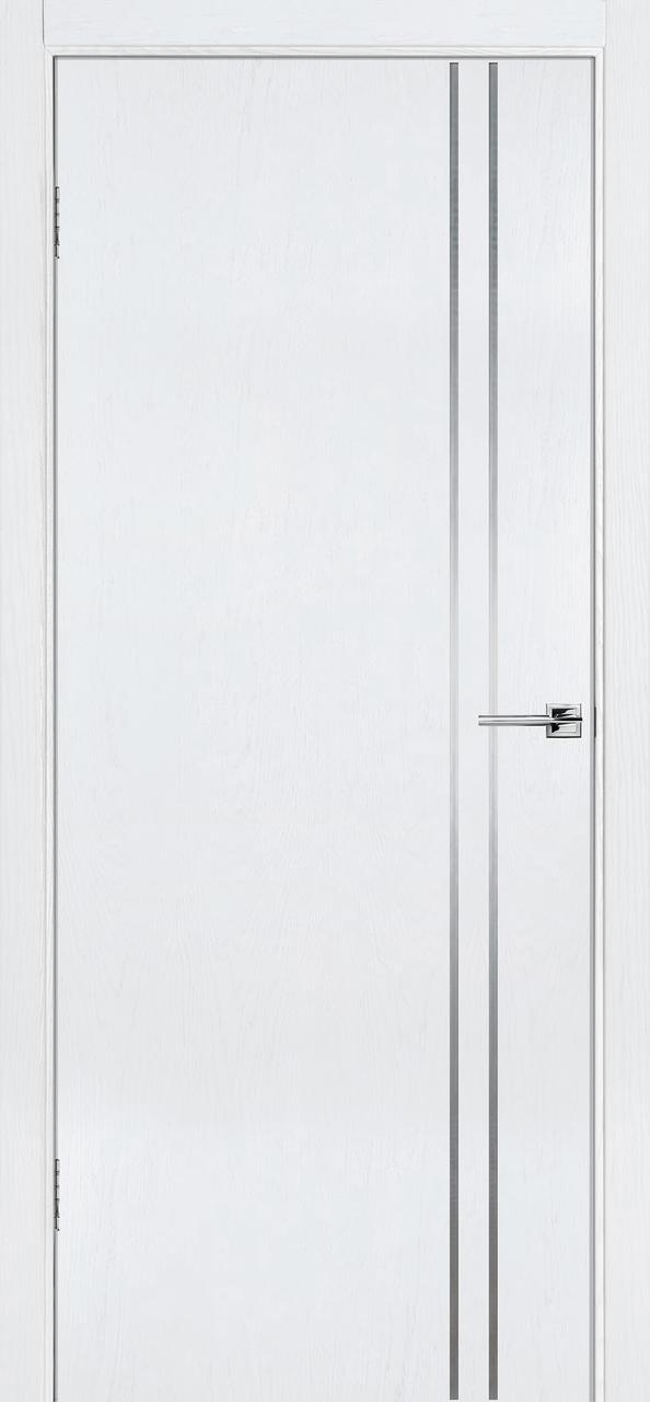 Межкомнатная дверь Флэш 4 белый ясень ПГ