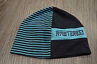 Детская весенняя шапка шапочка на мальчика фирмы Raster Польша
