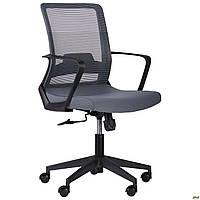 Офисное кресло AMF Argon-LB серый цвет для большого веса