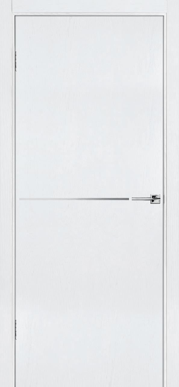 Межкомнатная дверь Флэш 6 белый ясень ПГ