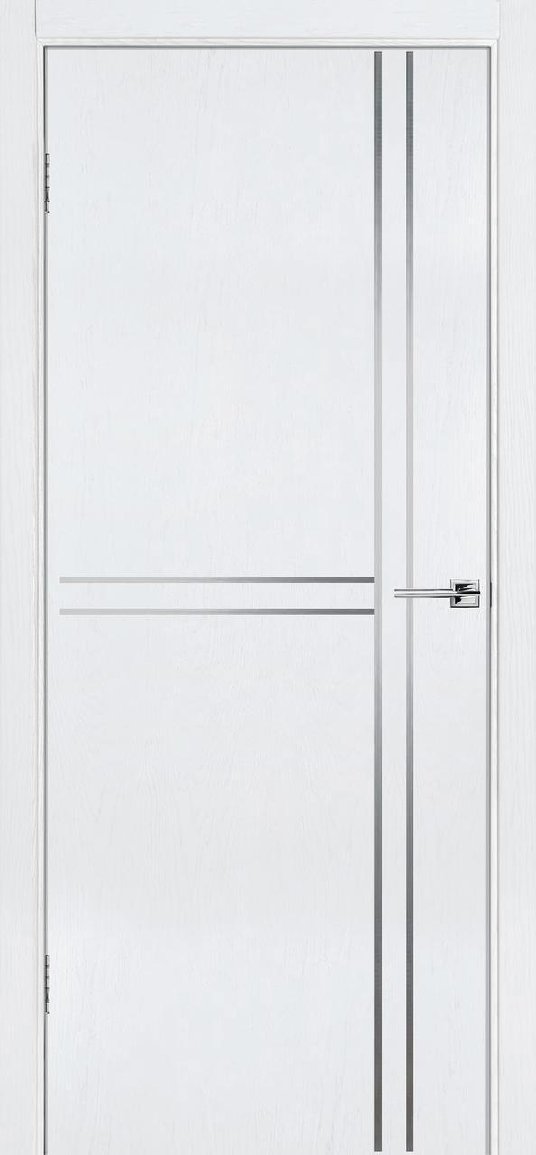 Межкомнатная дверь Флэш 7 белый ясень ПГ