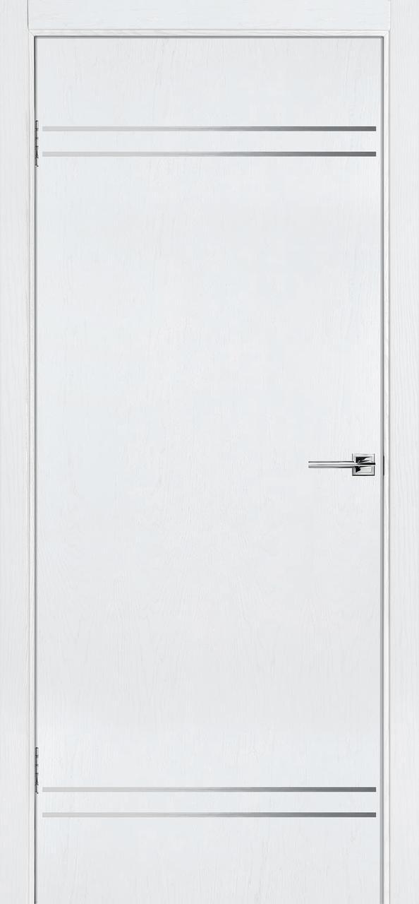 Межкомнатная дверь Флэш 9 белый ясень ПГ