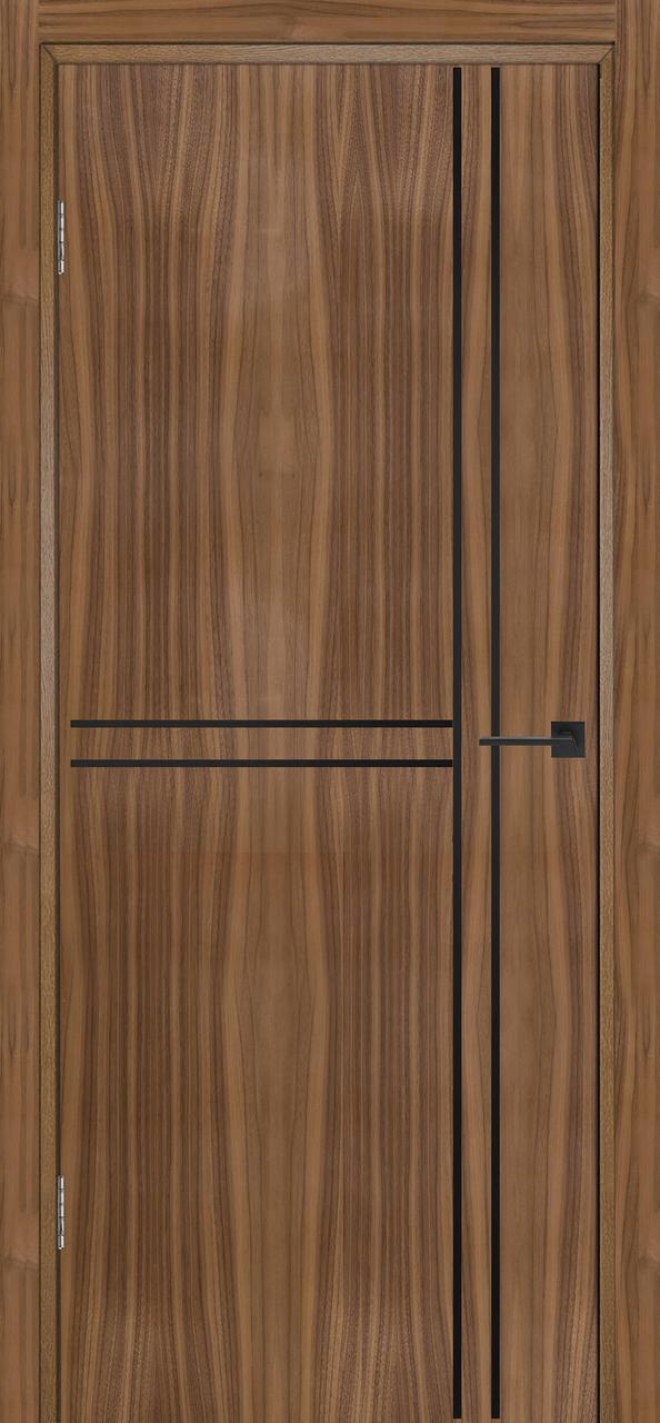 Межкомнатная дверь Флэш 7 орех американский ПГ