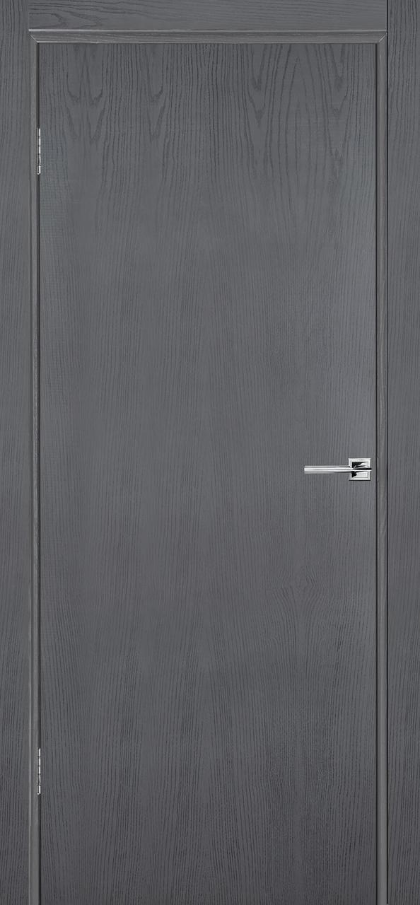 Межкомнатная дверь Флэш 1 серый ясень ПГ