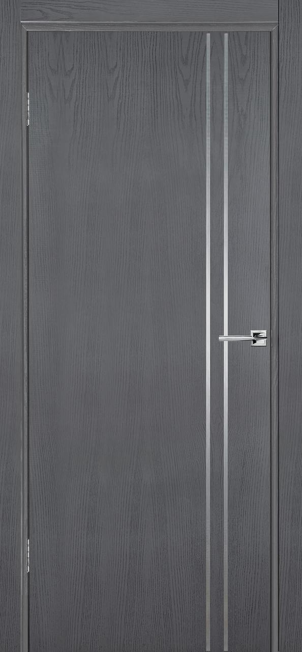 Межкомнатная дверь Флэш 4 серый ясень ПГ