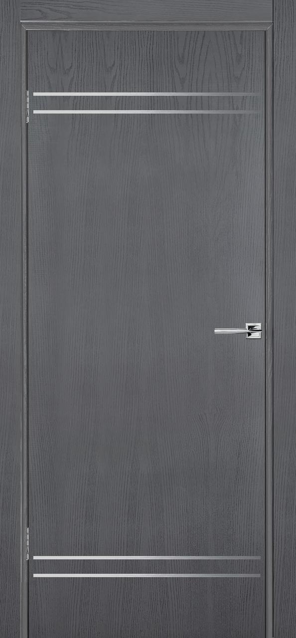 Межкомнатная дверь Флэш 9 серый ясень ПГ