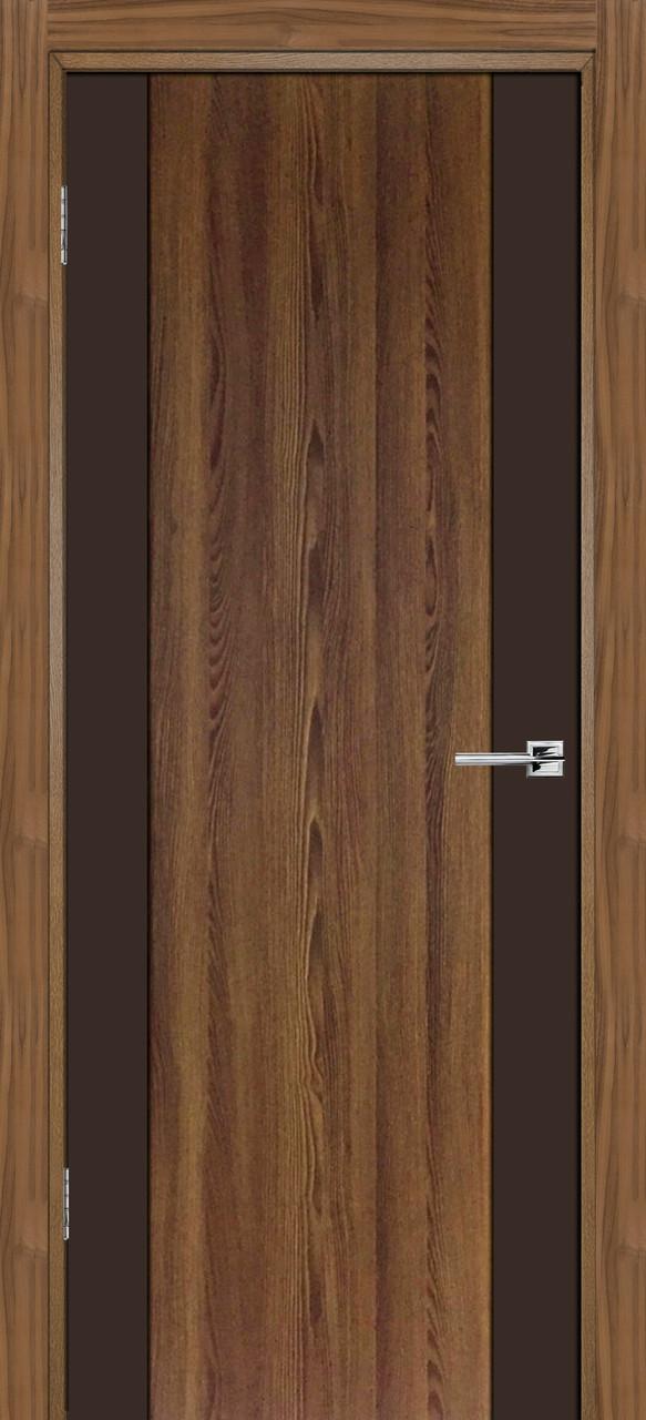 Межкомнатная дверь Честер коричневый софт ПГ