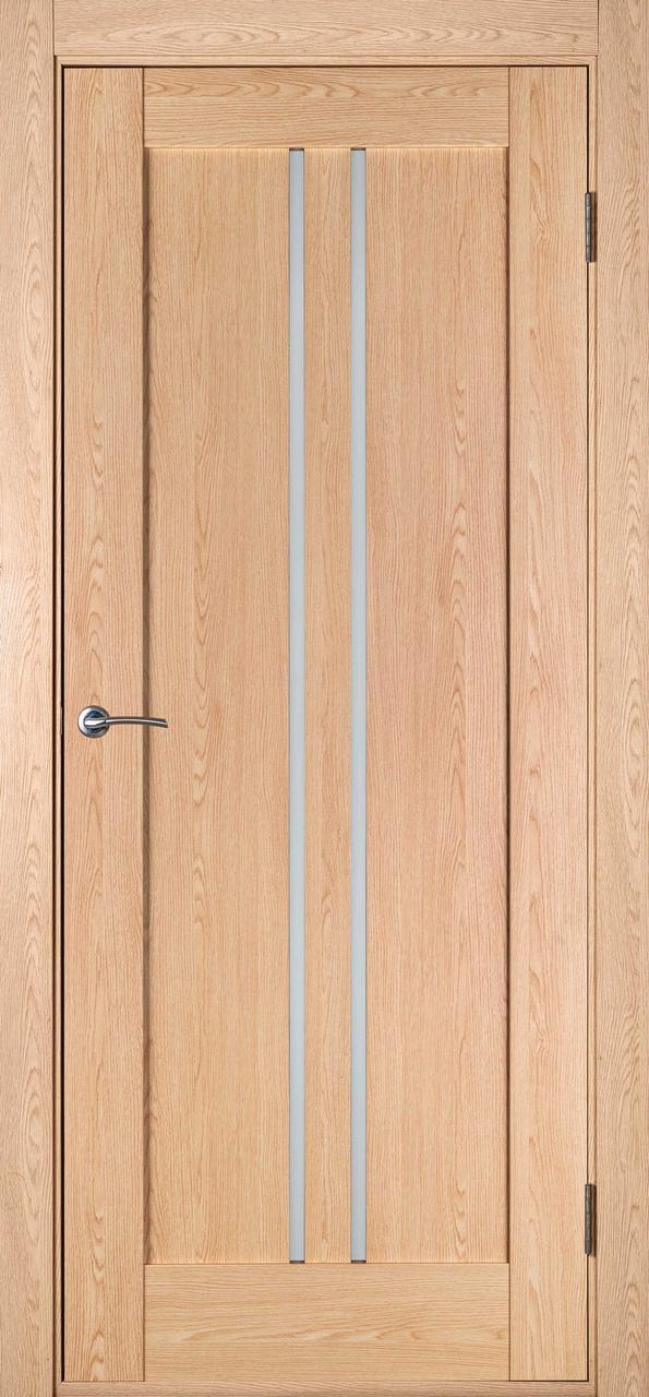Дверь межкомнатная Вертикаль выбеленный дуб ПГ (сток)