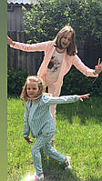 Костюм для девочки стильный пиджак и брюки