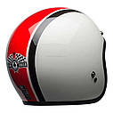 Мотошлем Bell Custom 500 DLX Special Edition Ace Cafe Stadium White/Red/Black, фото 3