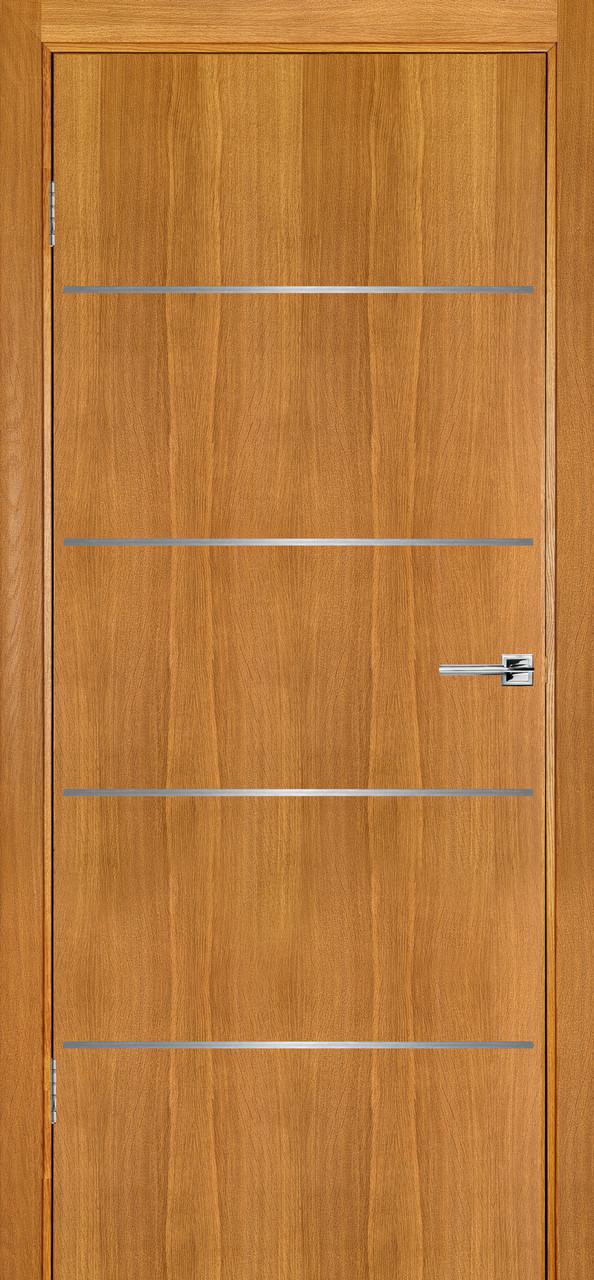 Міжкімнатні двері Флеш 2 світлий дуб ПГ (протипожежна)