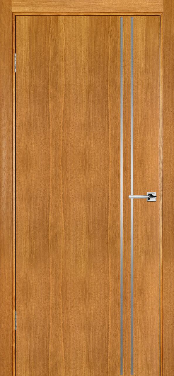 Міжкімнатні двері Флеш 4 світлий дуб ПГ (протипожежна)