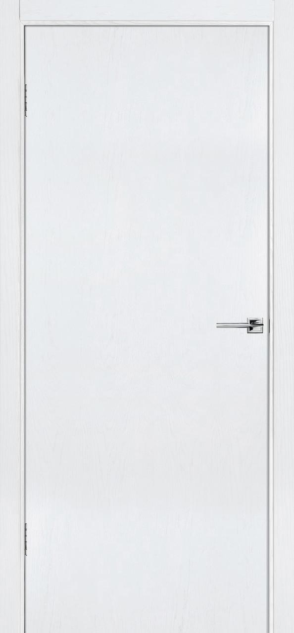 Межкомнатная дверь Флэш 1 белый ясень ПГ (противопожарная)